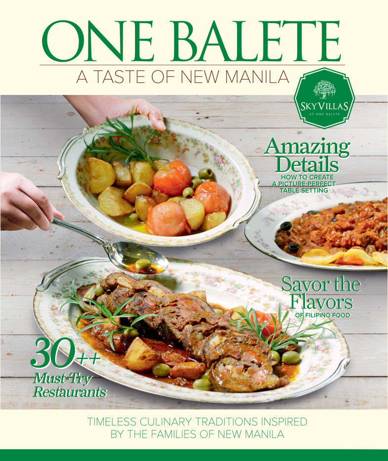 One Balete: A Taste of New Manila