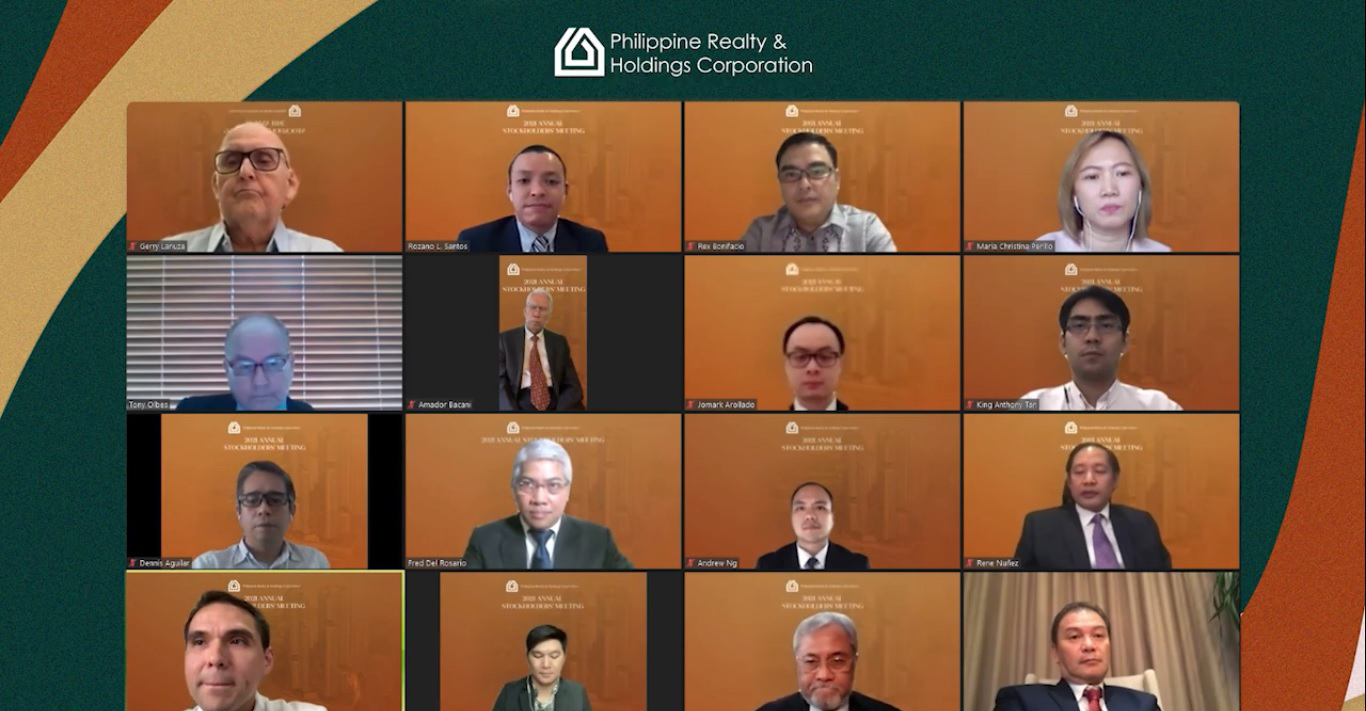 Philrealty 2021 Annual Stockholders' Meeting